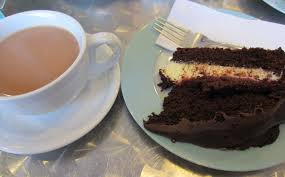 tea and cake welcome