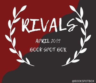Rivals theme from Book Spot Box giveaway in the article how to deal with stress and anxiety